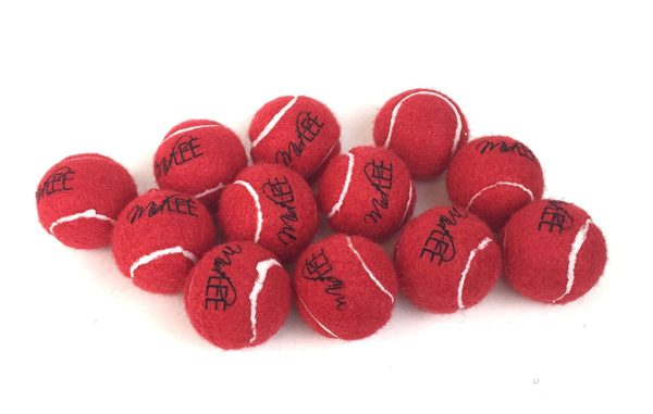Mini Dog Tennis Balls 1.5 by Midlee 12-Pack