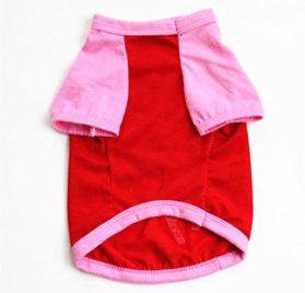 Wakeu Pet Supplies Pet Clothes For Small Dog Girl Dog Boy Cat Cotton Clothing Summer 2