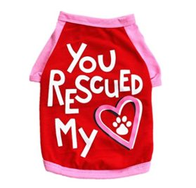 Wakeu Pet Supplies Pet Clothes For Small Dog Girl Dog Boy Cat Cotton Clothing Summer