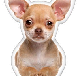 iLeesh Chihuahua Brown Shaped Pillow