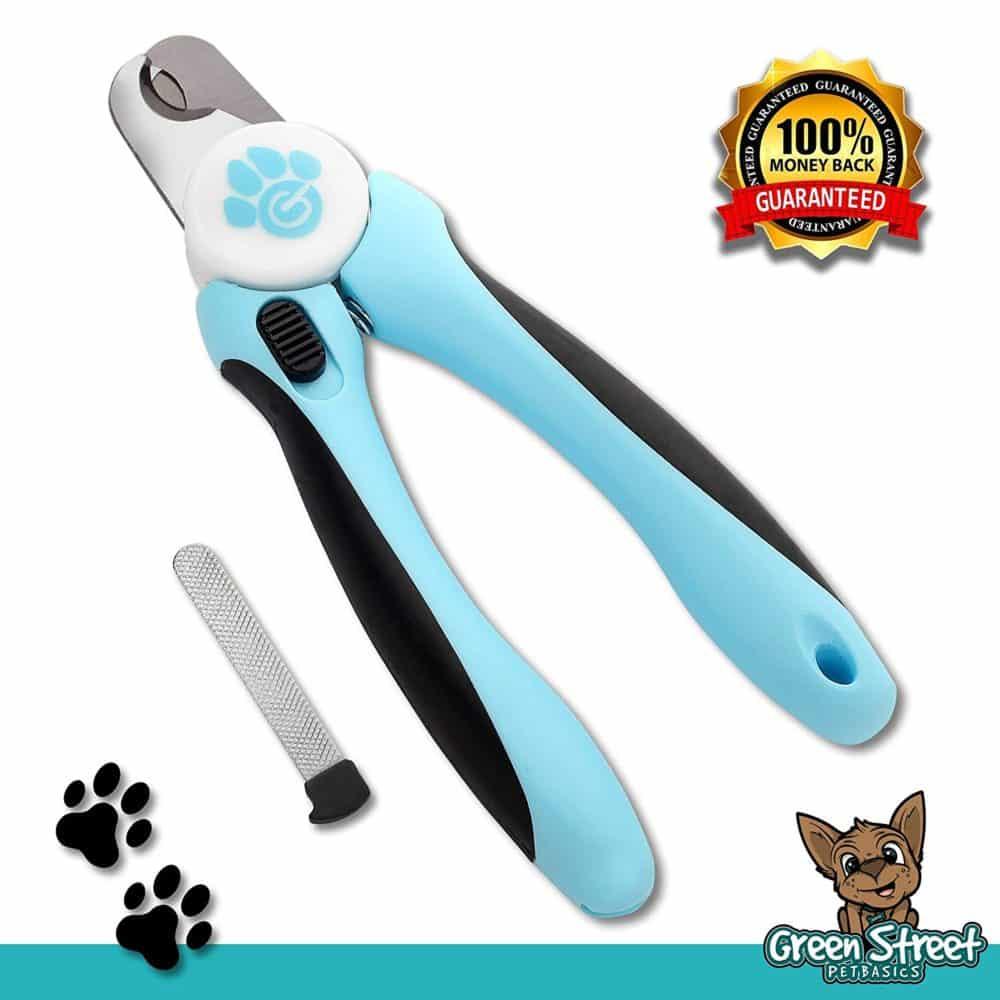 Professional Dog Nail Clippers, Guillotine Razor Sharp Blades