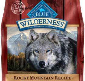 BLUE Wilderness Rocky Mountain Recipe High Protein Grain Free Adult Dry Dog Food