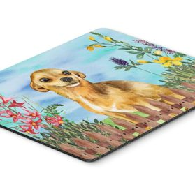 "Caroline's Treasures Chihuahua Spring Mouse Pad, Hot Pad or Trivet, 7.75"" x 9.25"", Multicolor (CK1220MP)"