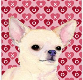 Caroline's Treasures Mouse Hot Pad Trivet, Chihuahua Hearts Love & Valentine's Day Portrait (SS4472MP)
