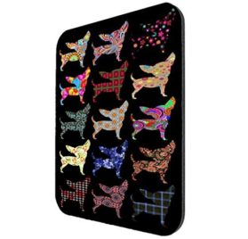 Chihuahua Dog Pattern Mousepad