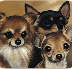 Fiddler's Elbow Pollyanna Pickering Chihuahua Mouse Pad