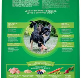IAMS Proactive Health Dry Dog Food, Small & Toy Breed, 12.5 lbs. (Standard Packaging) 2