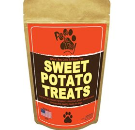 Paw to Tail Dog Jerky Treats, Made USA, All Natural, Low Fat, Grain Free, 8oz