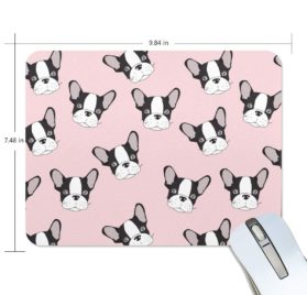 ALAZA Hipster Cute Funny Chihuahua Non-Slip Rubber Decorate Gaming Mouse Pad 9.84 x 7.48 inch