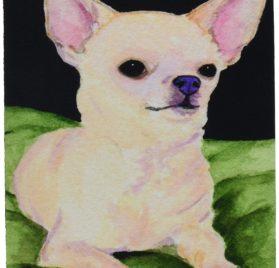 Caroline's Treasures Mouse Pad Hot Pad Trivet, Chihuahua (SS8789MP)