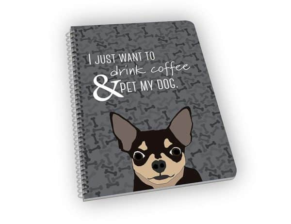 Chihuahua Notebook for Dog Lovers - A Great Gift for Dog Owners and Pet Lovers!