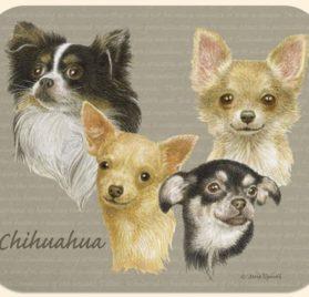 David Kiphuth Dog Breeds Chihuahua Mousepad Mouse Pad