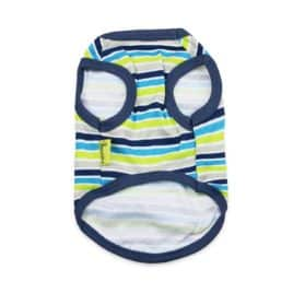 DroolingDog Dog Striped Clothes Cotton Vest Basic Apparel for Small Dogs 2