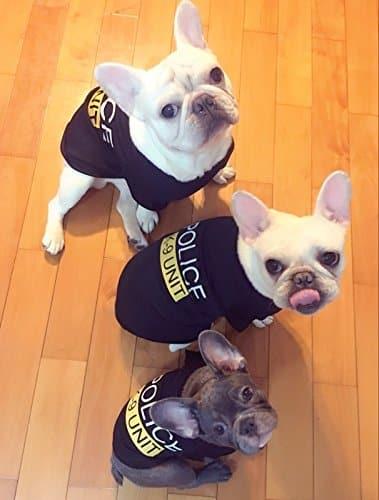 ... DroolingDog Pet Dog Clothes POLICE K-9 UNIT Canine Tee Shirt Costume for Small Dogs ... & DroolingDog Pet Dog Clothes POLICE K-9 UNIT Canine Tee Shirt Costume