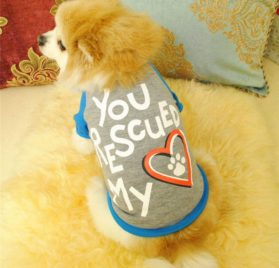 WuyiM® Pet T Shirt, Puppy Summer Footprints Soft Vest Small Dog Cat Pet Clothes Costumes for Summer Apparel 2