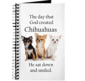 CafePress - God & Chihuahuas - Spiral Bound Journal Notebook, Personal Diary, Dot Grid