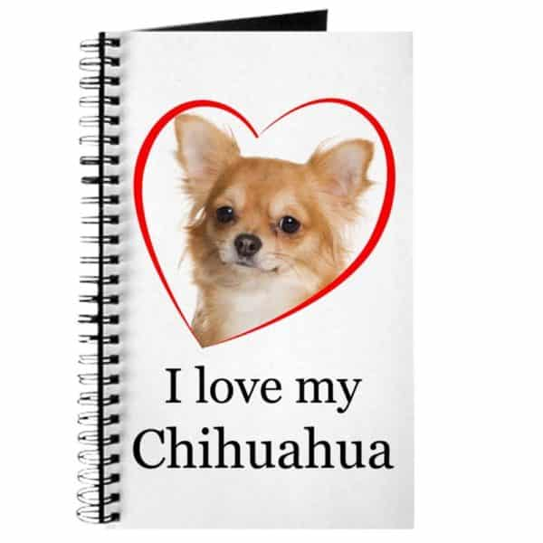CafePress - Love My Chihuahua - Spiral Bound Journal Notebook, Personal Diary, Lined