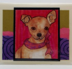 Chihuahua Business Card Case #717 Made in the USA