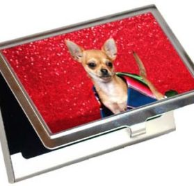 Chihuahua Business Card Credit Card Case