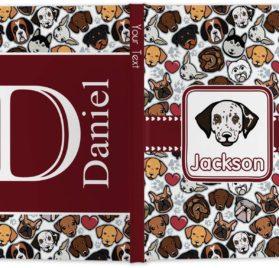 "Dog Faces Hardbound Journal - 5.75"" x 8"" (Personalized) 2"