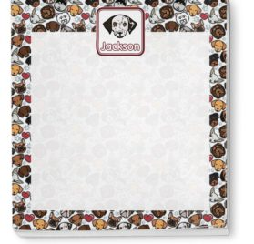 Dog Faces Notepad (Personalized) 2