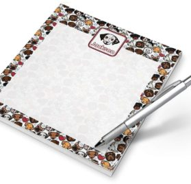 Dog Faces Notepad (Personalized)