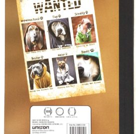 Dogz in the Hood Wide Ruled Composition Notebook 6 Item Bundle 2