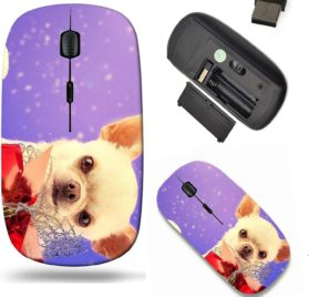 Liili Wireless Mouse Travel 2.4G Wireless Mice with USB Receiver, Click with 1000 DPI for notebook, pc, laptop, computer, mac book IMAGE ID 32918451