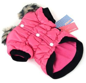 Soly Tech Winter Pet Cat Dog Soft Padded Coat Hooded Jacket Small Dog Clothes XS-XXL 2