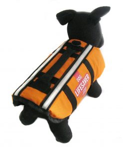 Alfie Couture Designer Pet Apparel - Alvis Pet Life Jacket - Color: Orange - 1