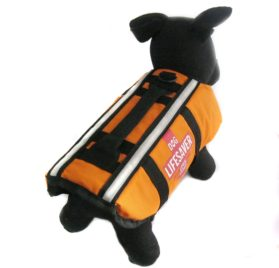Alfie Couture Designer Pet Apparel - Alvis Pet Life Jacket - Color: Orange - 1
