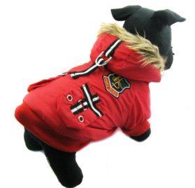 Alfie Couture Designer Pet Apparel - Hilda Hooded Jacket - 1