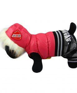 Alfie Couture Designer Pet Apparel - Bam Hooded Jumper - 1