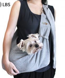 Alfie Pet by Petoga Couture - 3-Piece Dog Park Bundle Chico 2.0 Revisible Pet Sling Carrier, Microfiber Fast-Dry Towel, Rosh Collapsible Travel Bowl 3