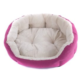 Favorite Cozy Plush Cuddle Bed, Nesting Pet/Dog/Cat/Puppy/Kitten Bed-2