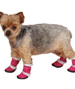 ESC Sherpa Dog Boot - Raspberry-1