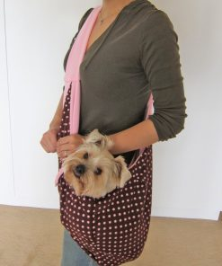 Alfie Pet by Petoga Couture - Chico Reversible Pet Sling Carrier-2