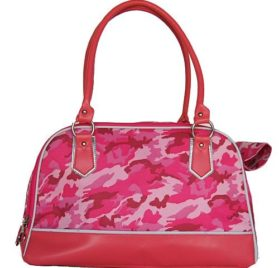 Anima Pink Camo Carrier, 16-Inch by 8-Inch by 10-Inch