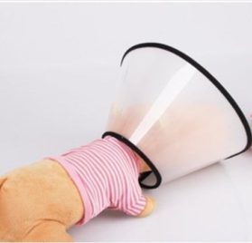 Popular E- Collar Elizabethan Dog Cat Pet Wound Healing Cone-1