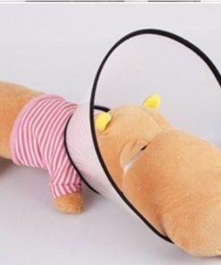 Popular E- Collar Elizabethan Dog Cat Pet Wound Healing Cone-2