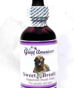 Natural Breath Drops for Pets with Chlorophyll & Peppermint Essential Oil-1