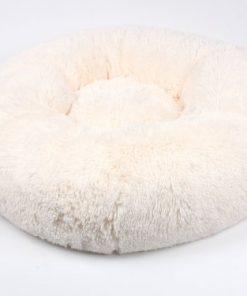 Powder Puff Pet Round Bed by Susan Lanci Designs