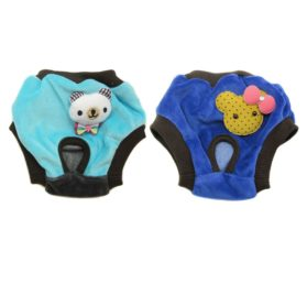 Alfie Pet Apparel by Petoga Couture - Elli Diaper Dog Sanitary Pantie (for Girl Dogs)-1