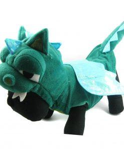 Alfie Couture Designer Pet Apparel - Smokie the Dragon Dinosaur Costume - 1