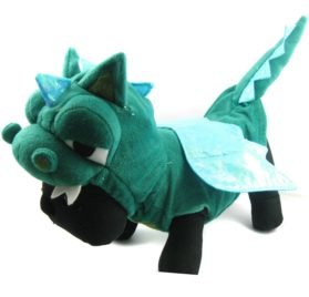 Alfie Couture Designer Pet Apparel - Smokie the Dragon Dinosaur Costume - 1