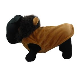 Alfie Couture Designer Pet Apparel - Wade the Lion Costume - Color: Brown - 1