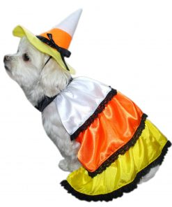 Anit Accessories Candy Corn Dog Costume, 16-Inch - 1