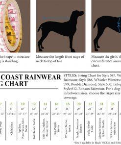 RC Pet Products West Coast Rain Wear Dog Coat - 3