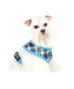 Puppia Soft Dog Harness Spring Blue Small