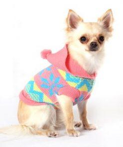 "UrbanPup Alpine Hooded Sweater (X-Small - Dog Body Length: 8"" / 20cm) - 3"